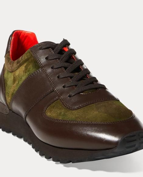 Ethan Camo Suede Sneaker