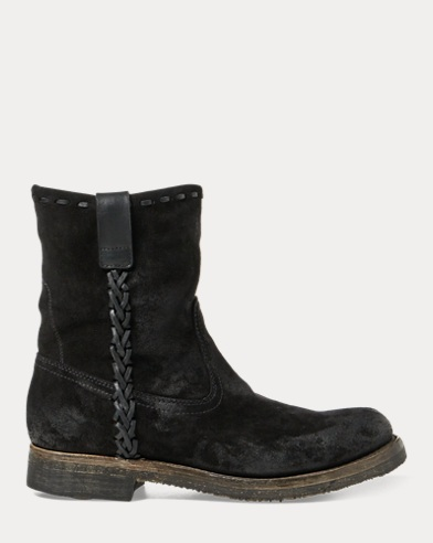 Jerrod Oiled Suede Roper Boot
