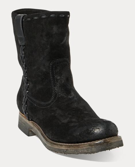 Jerrod Oiled Suede Roper Boot