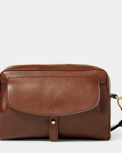 Luxe Calfskin Zip-Around Pouch