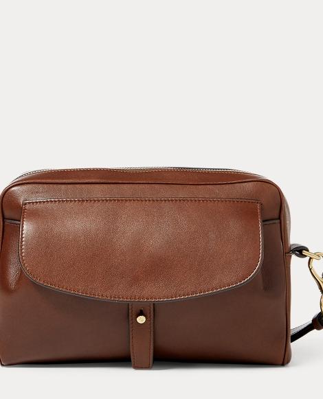 Luxe Calfskin Zip-Around Pouch