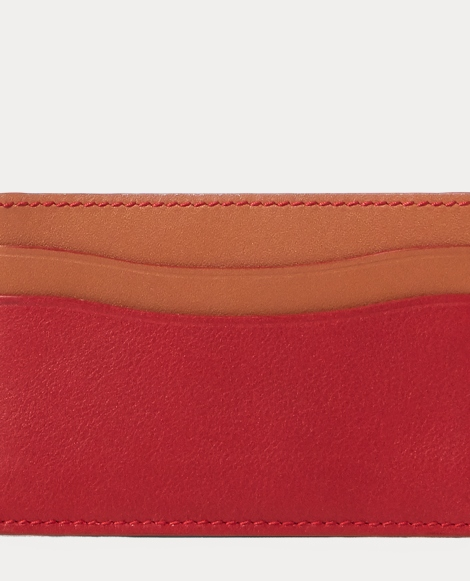 Grain Calfskin Card Case