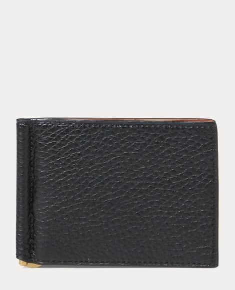 Calfskin Billfold & Money Clip