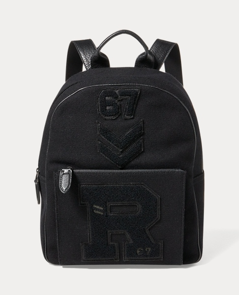 Patchwork Wool Backpack