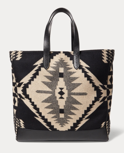 Wool-Cashmere Blanket Tote