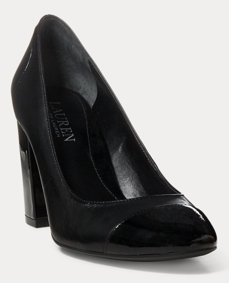 Fallon Patent Leather Pump
