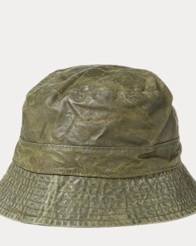 Waxed Cotton Bucket Hat