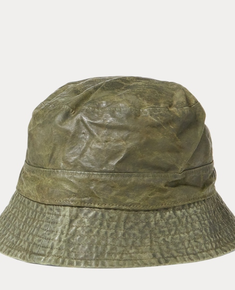 Waxed Cotton Bucket Hat