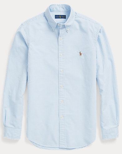 Classic Fit Gingham Shirt