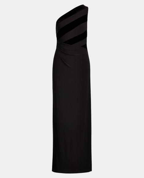 Velvet-Jersey Gown
