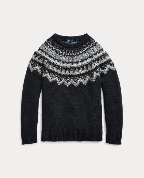 Beaded Nordic Sweater
