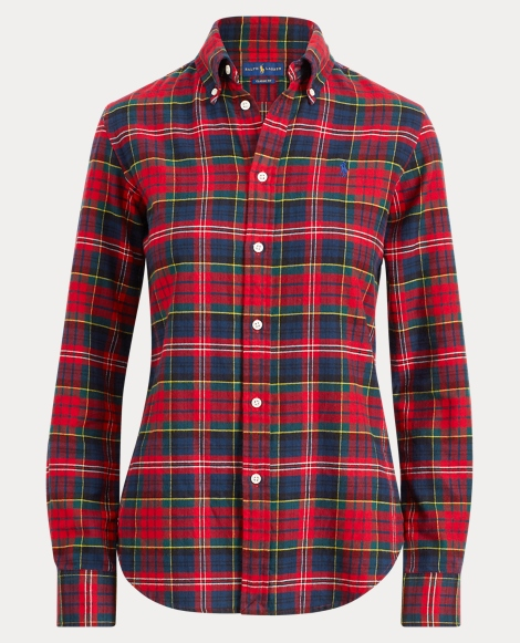 Classic Fit Flannel Shirt