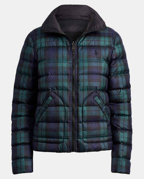 Reversible Quilted Down Jacket