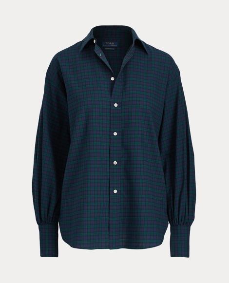 Tartan Flannel Boyfriend Shirt