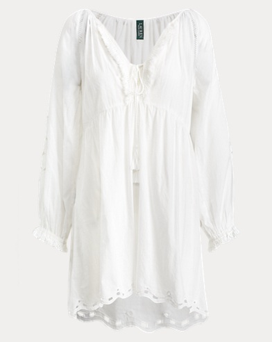 Eyelet Cotton Cover-Up