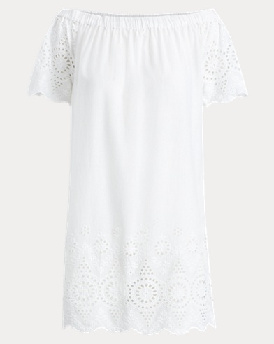 Eyelet Voile Cover-Up