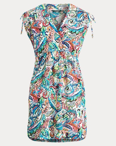 Paisley Cotton Cover-Up