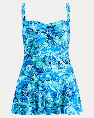 Slimming Paisley One-Piece