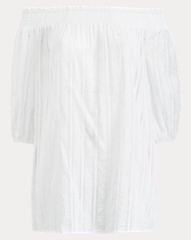 Smocked Cotton Tunic