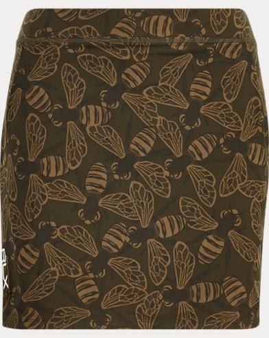 Bee-Print Jersey Skort