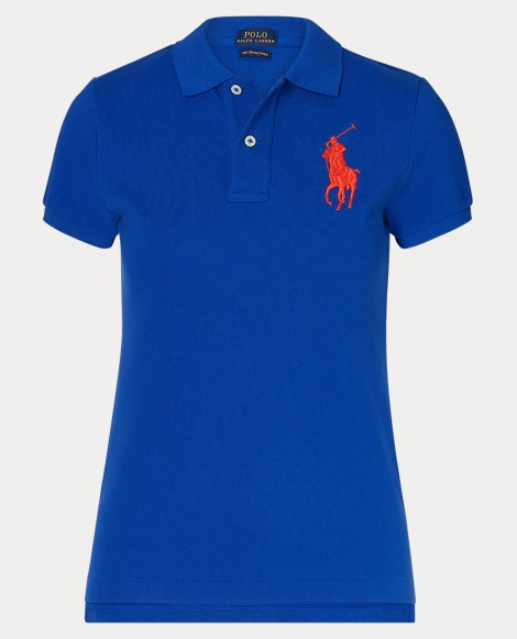 Skinny Fit Big Pony Polo Shirt
