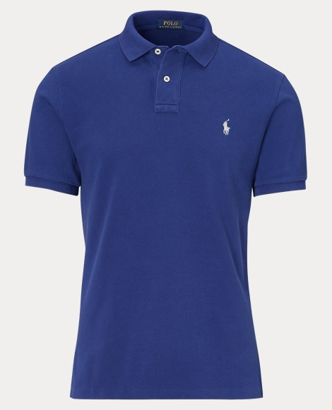 Classic Fit Weathered Polo