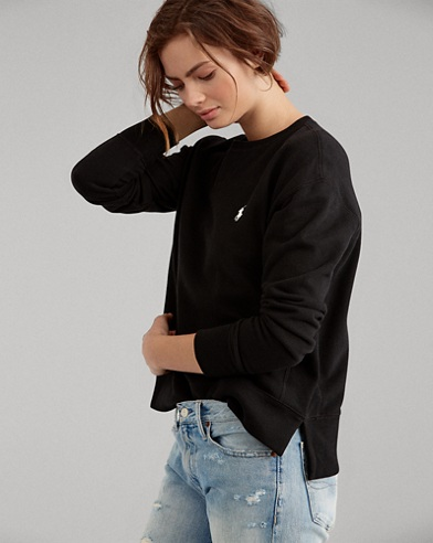 Lightweight Fleece Sweatshirt