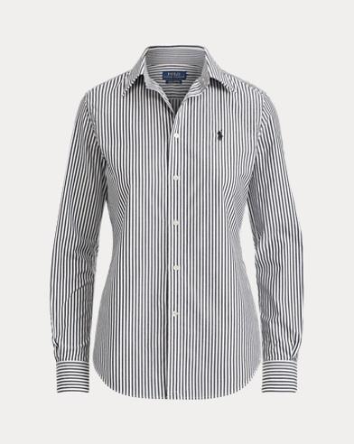 Striped Stretch Slim Fit Shirt