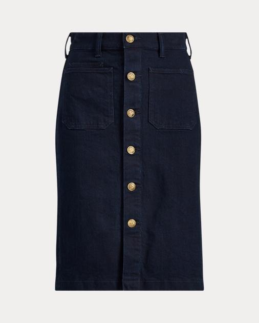 59a5717ed62 Stretch Denim Pencil Skirt
