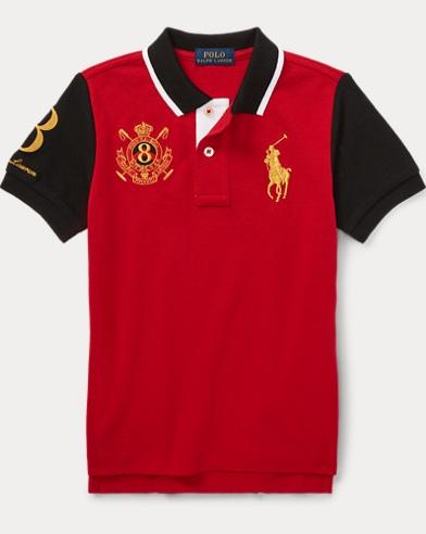 Lunar New Year Mesh Polo Shirt