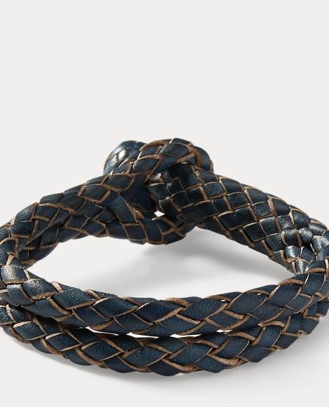 Braided Rawhide Bracelet