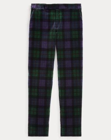 Polo Tartan Velvet Trouser