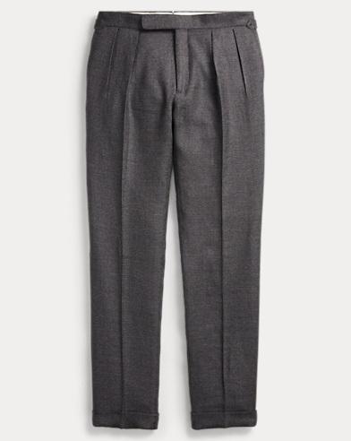 Tick-Weave Suit Trouser