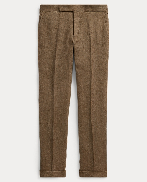 Polo Basket-Weave Suit Trouser