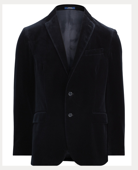 Morgan Navy Velvet Sport Coat