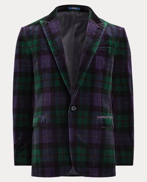 Connery Tartan Velvet Jacket