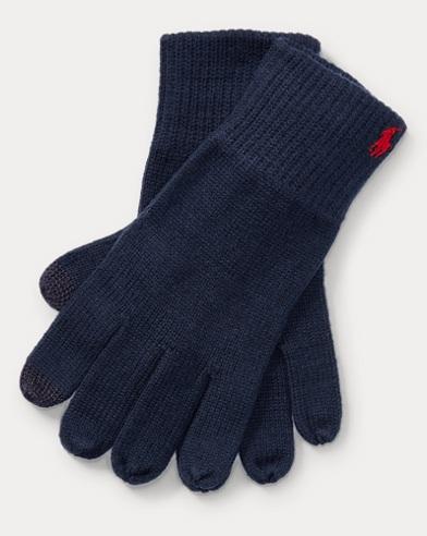 Cotton-Blend Tech Gloves