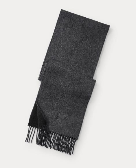 Reversible Merino Wool Scarf