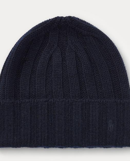 produt-image-0.0. Men Accessories Hats, Scarves & Gloves Wide-Rib Cashmere-Wool  Cap. Polo Ralph Lauren