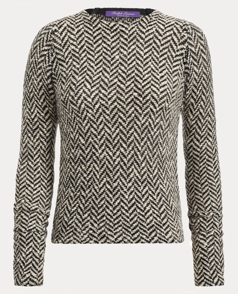 Herringbone Jacquard Sweater