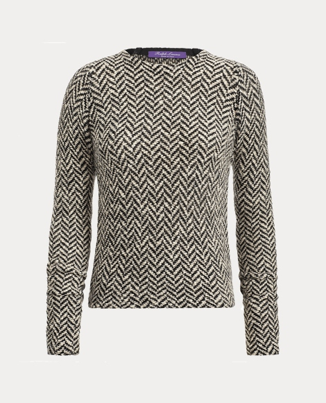 Herringbone Jacquard Sweater