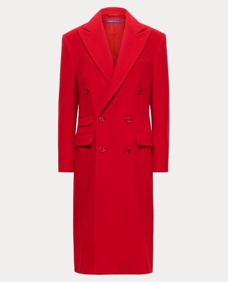 Brendan Wool Sateen Coat