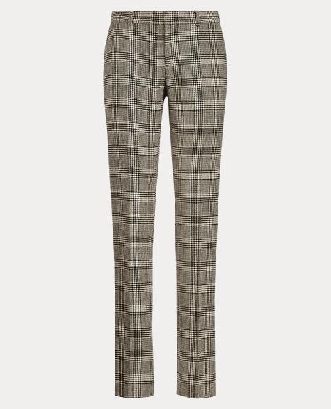 Sydney Glen Plaid Tweed Pant