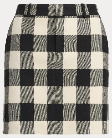 Bennett Checked Skirt