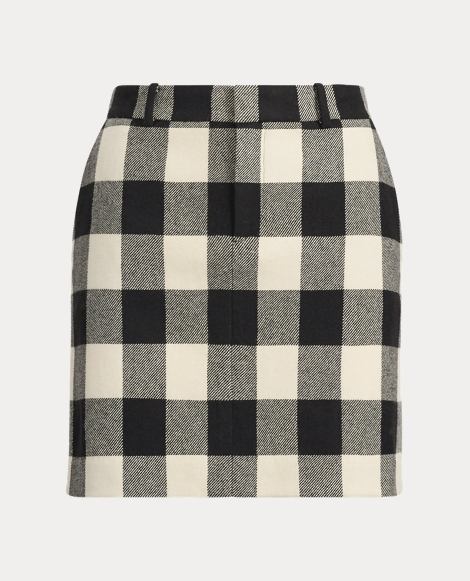 Bennett Checked Skirt