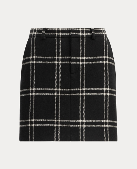Bennett Windowpane Skirt