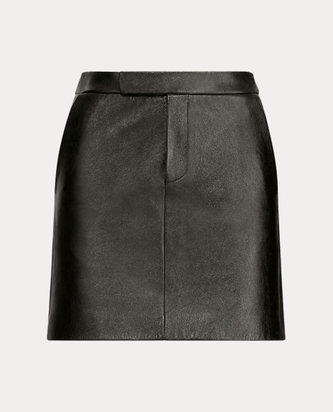Bennett Leather Miniskirt