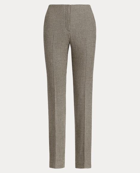 Simone Houndstooth Wool Pant