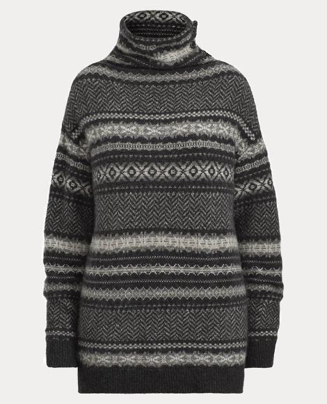 Chevron Fair Isle Sweater
