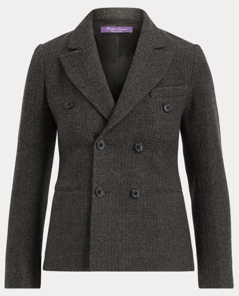 Francoise Herringbone Jacket
